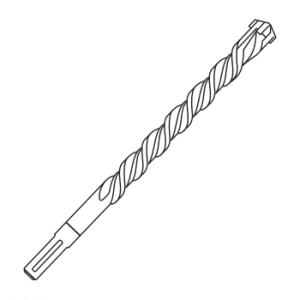 Сверла по бетону для перфоратора SDS-max