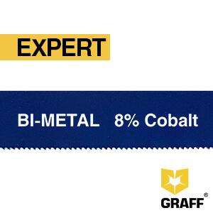 Полотно ножовочное 300х12,7х0,62 мм по металлу Bi-metal Expert GRAFF