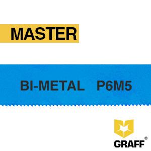 Полотно ножовочное 300х12,7х0,62 мм по металлу Bi-metal Master GRAFF