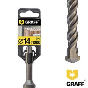 Сверло по бетону 14×950×1000 SDS-plus GRAFF
