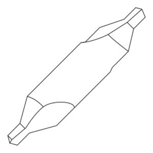 Сверла центровочные по металлу
